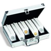 Leuchtturm KOSKR - чемодан (кейс) для монет в холдерах или в капсулах Quadrum