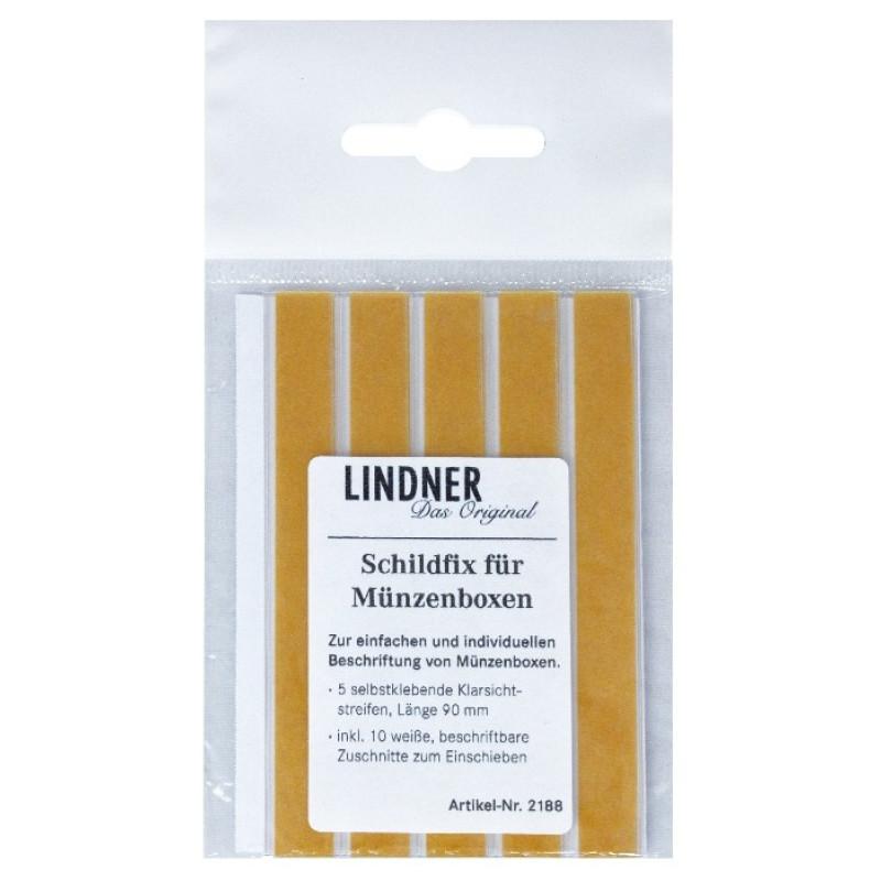 LINDNER Schildfix - Полимерные кармашки + 4 ножки