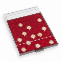 Бокс монетный c планшетом для монет 32.5 мм, Leuchtturm MB 35 R/32,5