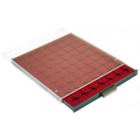 Бокс монетный c планшетом для монет в капсулах 22,5 мм. Leuchtturm MB CAPS 16,5
