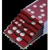 Боксы с квадратными ячейками для монет (18)