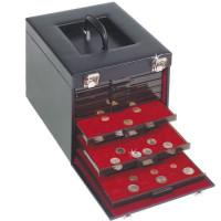 Кофр (кейс) для 10 монетных боксов, Leuchtturm MB KO