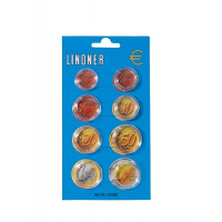 8 капсул для годового набора монет ЕВРО
