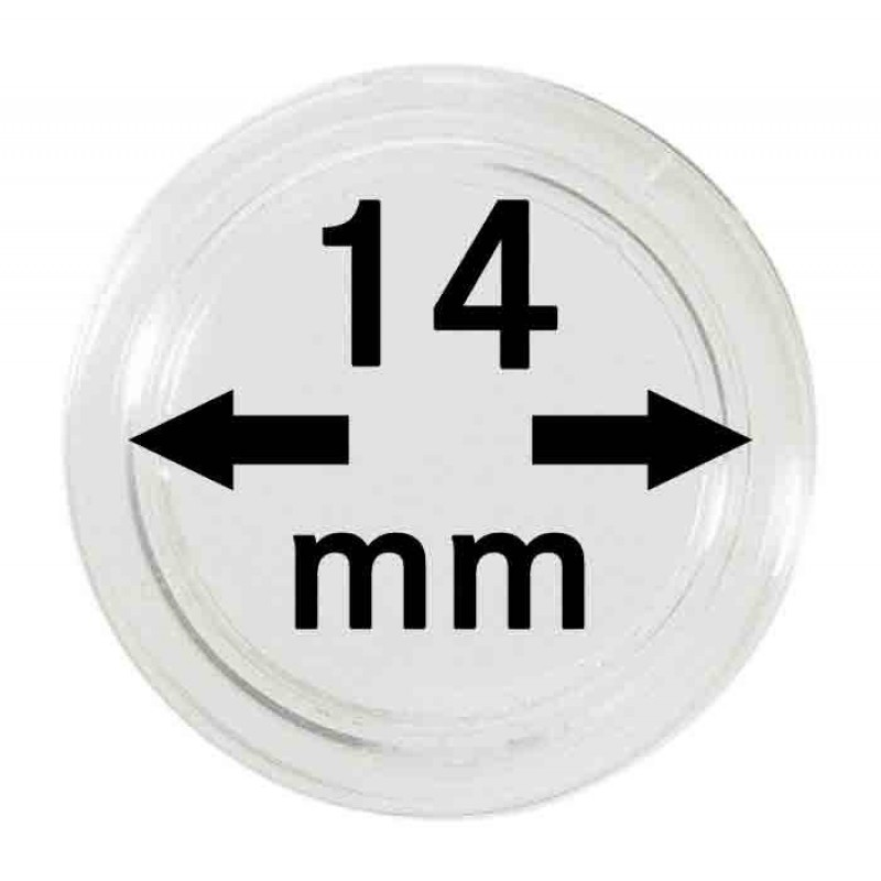 Капсула для монет 14 мм, Leuchtturm