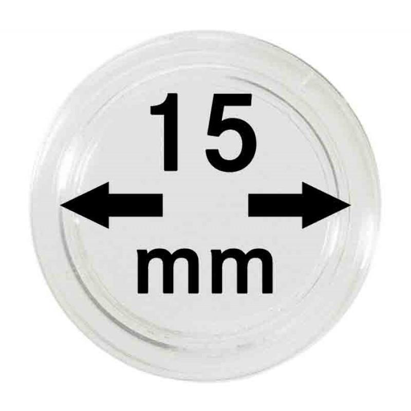 Капсула для монет 15 мм, Leuchtturm