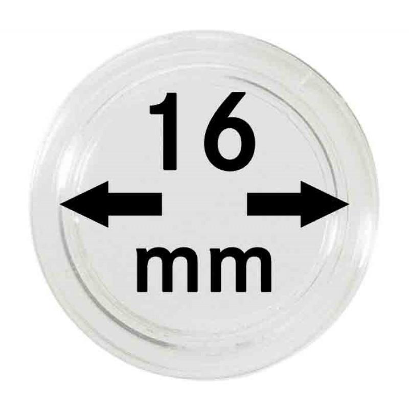 Капсула для монет 16 мм, Lindner