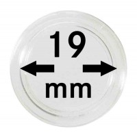 Leuchtturm CAPS 19 - Капсула для монет 19 мм