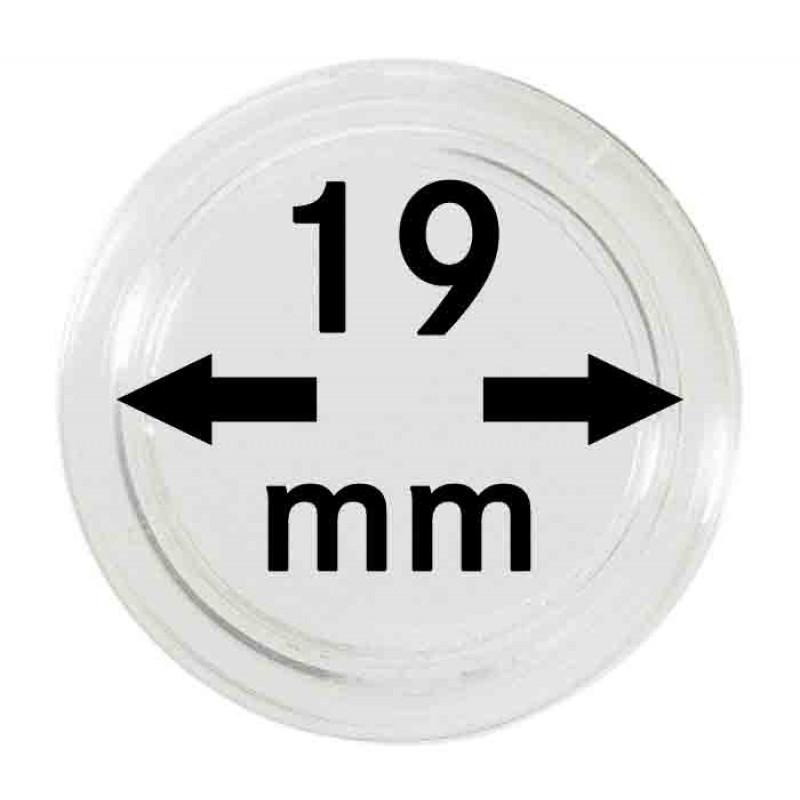 Капсула для монет 19 мм, Lindner