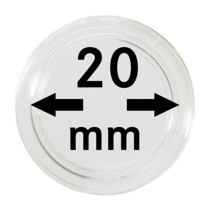 Капсула для монет 20 мм, Lindner