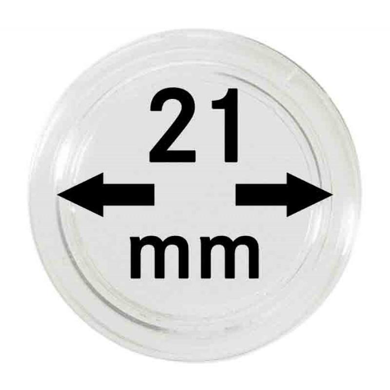 Капсула для монет 21 мм, Leuchtturm