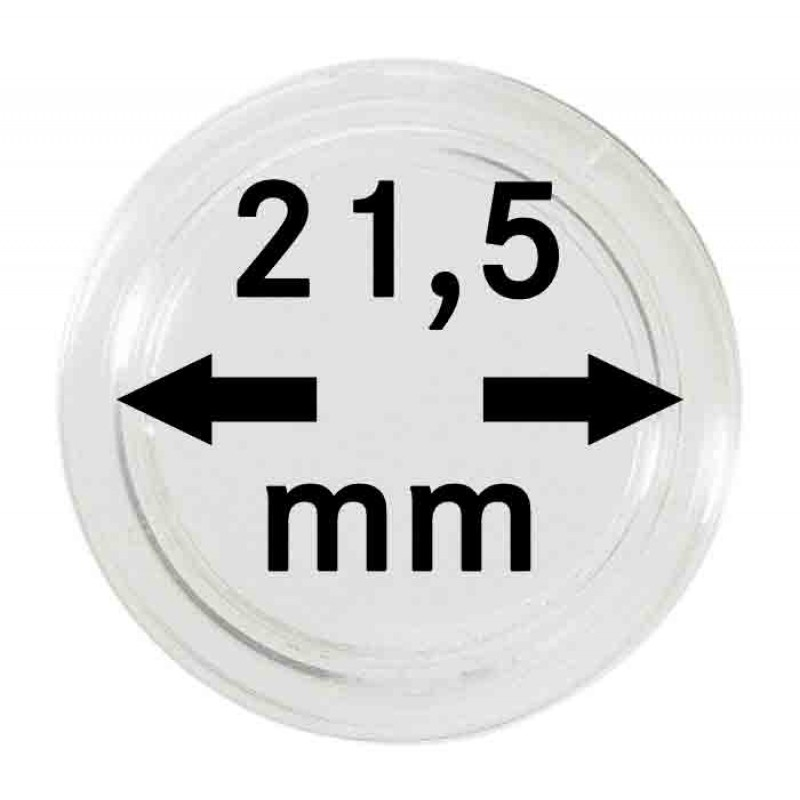 Капсула для монет 21.5 мм, Leuchtturm