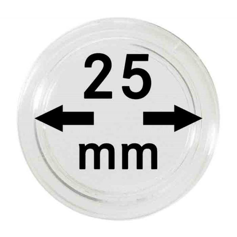 Капсула для монет 25 мм, Китай