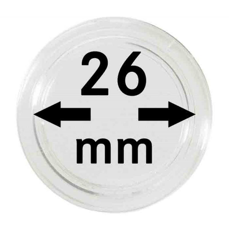 Капсула для монет 26 мм, Lindner