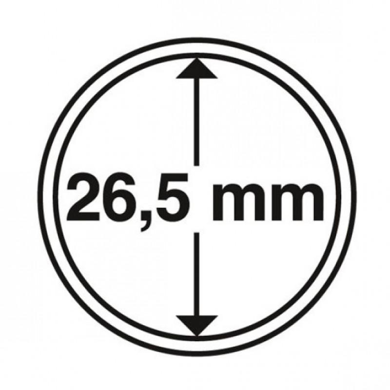Капсула для монет 26.5 мм, Leuchtturm