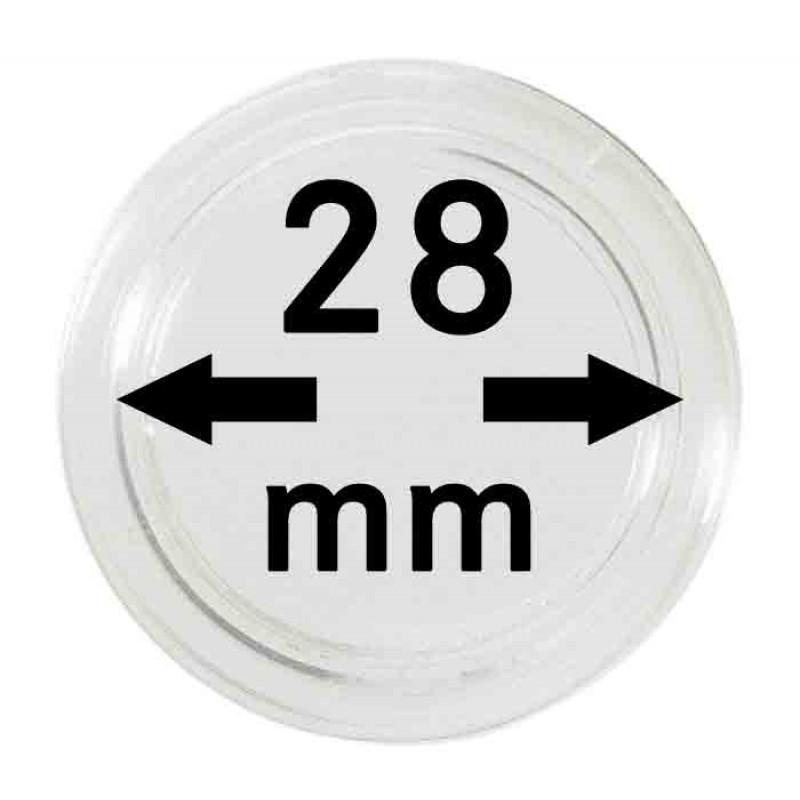 Капсула для монет 28 мм, Lindner