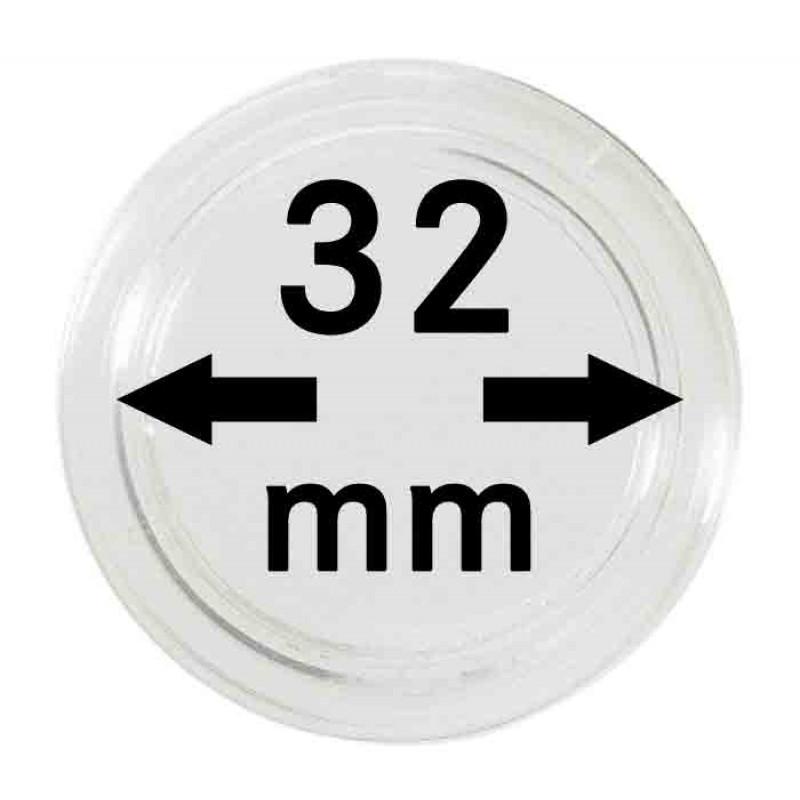 Капсула для монет 32 мм, Россия