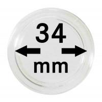 Капсула для монет 34 мм, Lindner