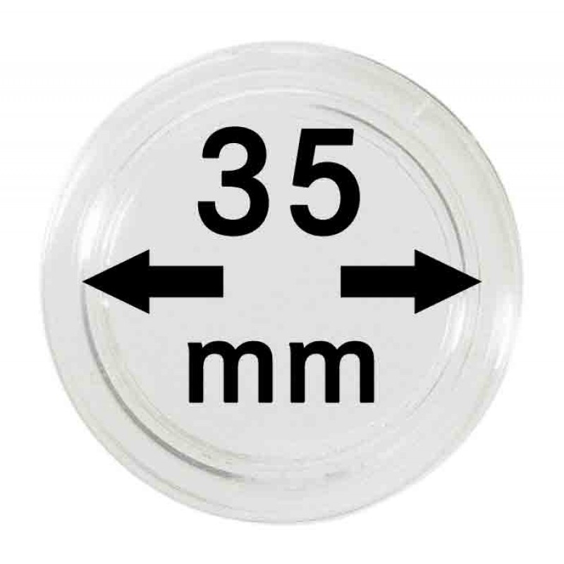 Капсула для монет 35 мм, Россия