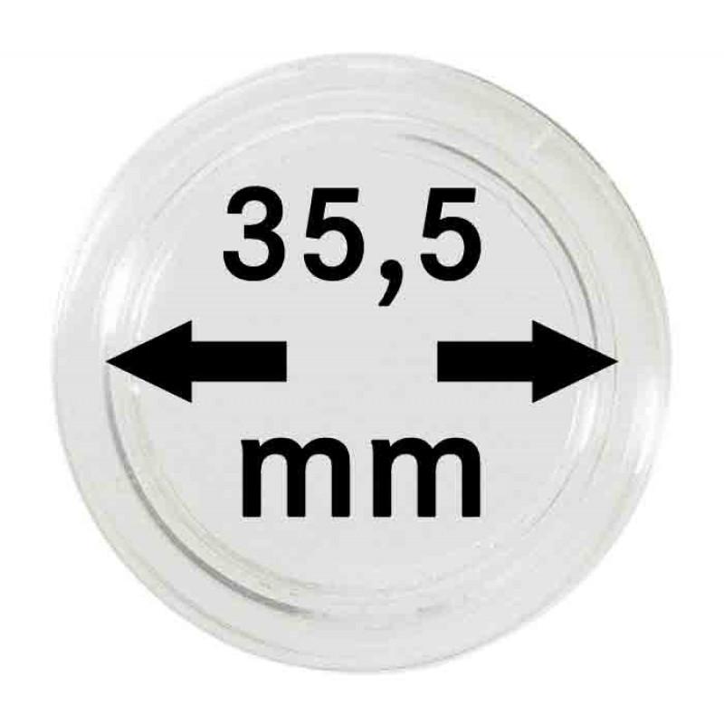 Капсула для монет 35,5 мм, Lindner