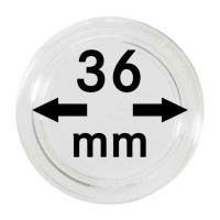 Капсула для монет 36 мм, Lindner