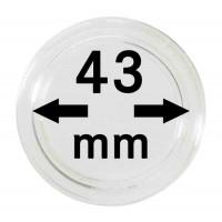Капсула для монет 43 мм,  Lindner