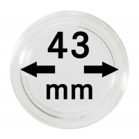 Капсула для монет 43 мм, Leuchtturm
