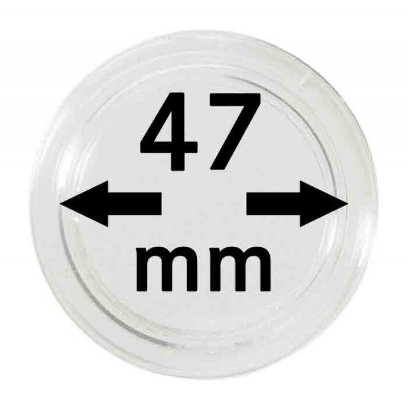Капсула для монет 47 мм, Leuchtturm