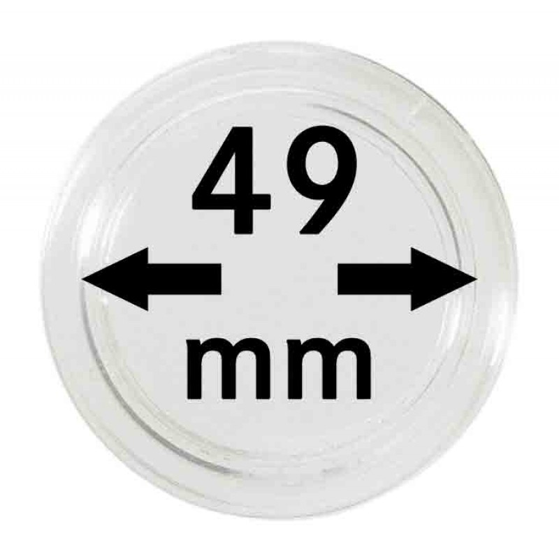 Капсула для монет 49 мм, Leuchtturm