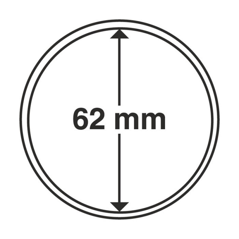 Капсула для монет 62 мм, Leuchtturm