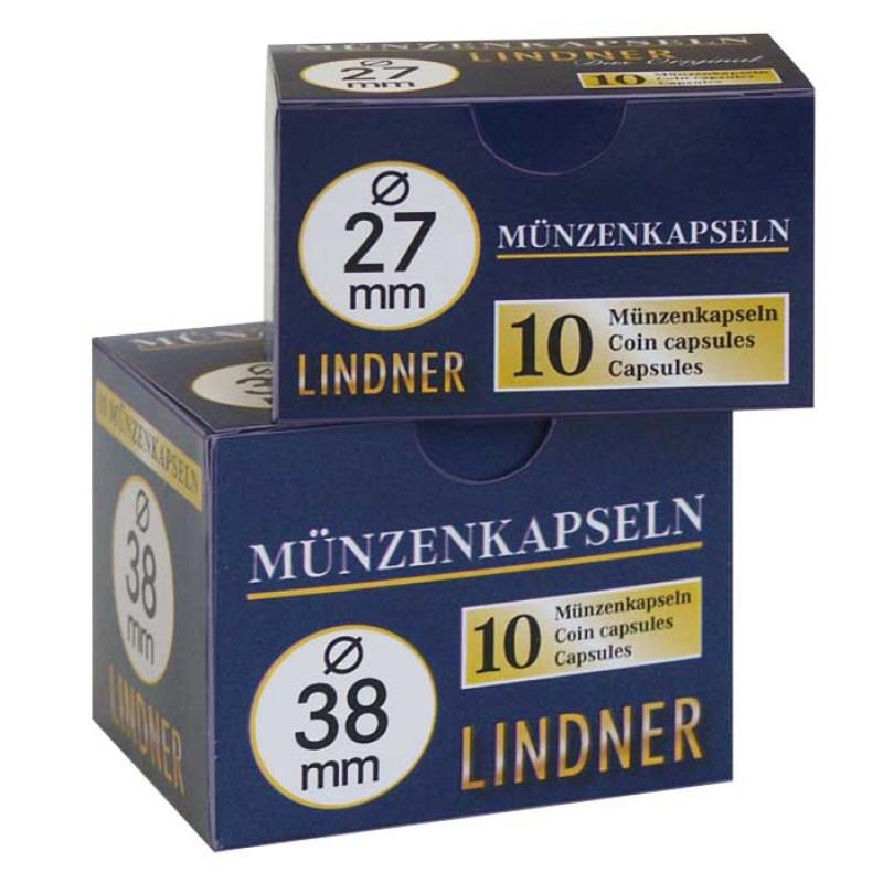 Капсула для монет 21.5 мм, Lindner
