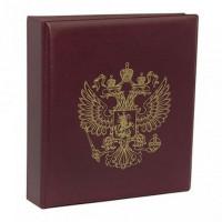 Альбом для монет «ЭКОНОМ-ГЕРБ», без листов, ПВХ