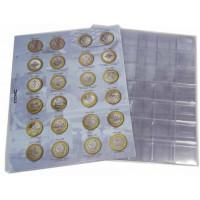 Комплект листов и листов-разделителей для памятных монет России