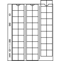 Лист для 54 монет до 20 мм, с разделителем, Lindner