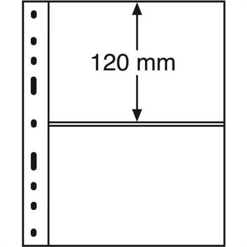 Лист для 2 бон, Optima 2C, Leuchtturm