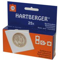 Холдеры самоклеящиеся, 37.5 мм, упаковка 25 штук, HARTBERGER