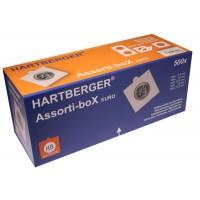 Холдеры самоклеящиеся 500 шт в ассортименте, HARTBERGER