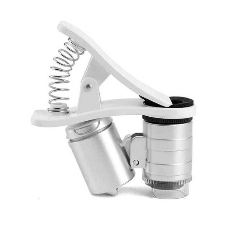 Микроскоп 60х с прищепкой на смартфон