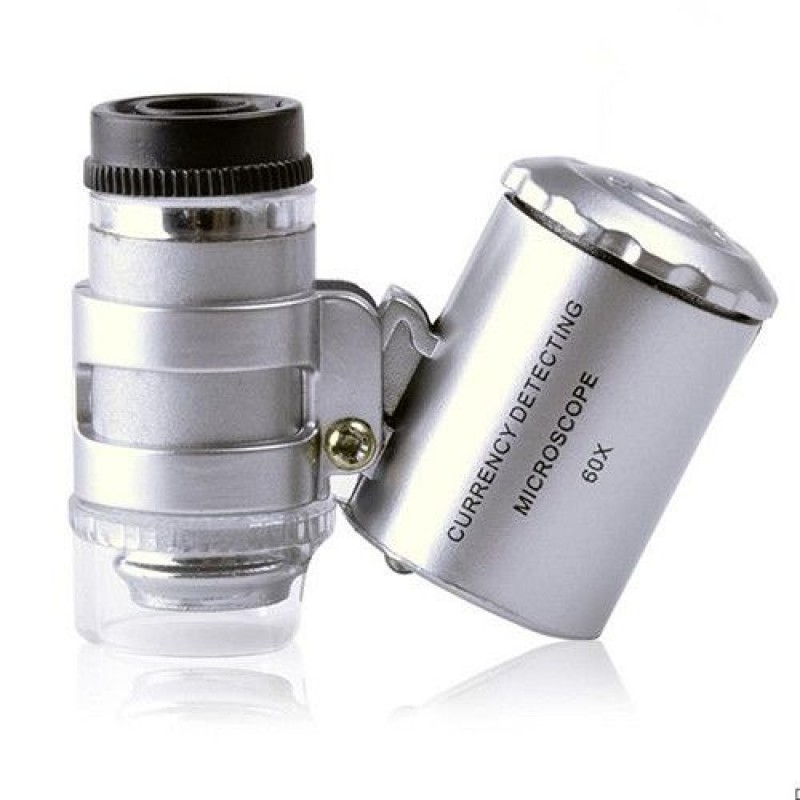 Микроскоп карманный 60х