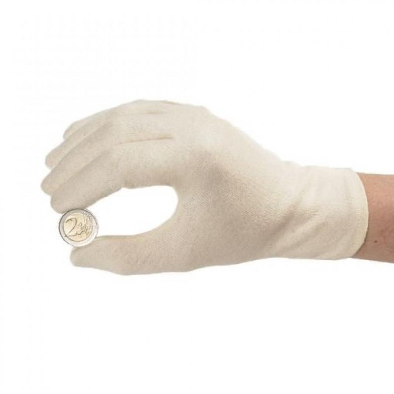 Перчатки нумизматические M, Euro Protection