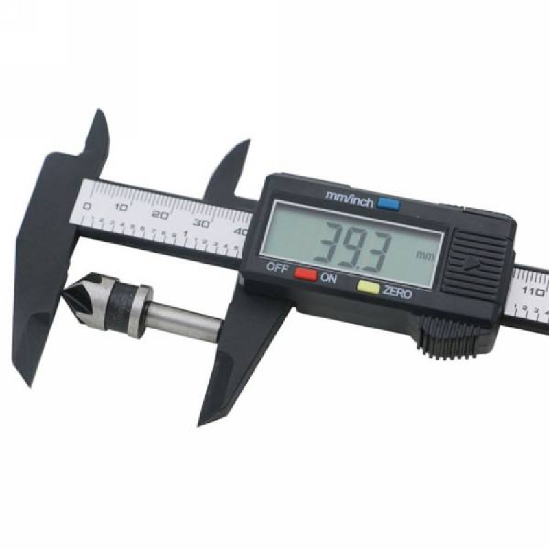 Штангенциркуль электронный карбоновый 150 мм