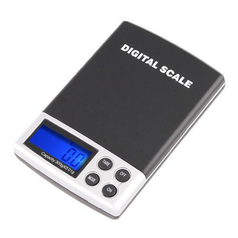 Весы цифровые карманные Digital POCKET SCALE 300/0.01