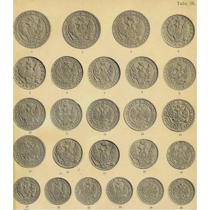 Русские монеты с 1801-1904 гг