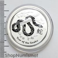 50 центов 2013 Год Змеи, Австралия, Proof (Unc)