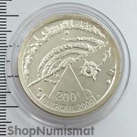 200 франков 2000 Вселенная, Бельгия, Aunc [25]