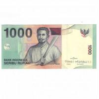 1000 рупий 2011 Индонезия, ПРЕСС UNC