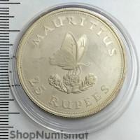 25 рупий 1975 Бабочка, Маврикий, Aunc [86]