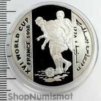 10000 шиллингов 1998 XVI Чемпионат мира по футболу, Сомали, Proof (Aunc) [52]